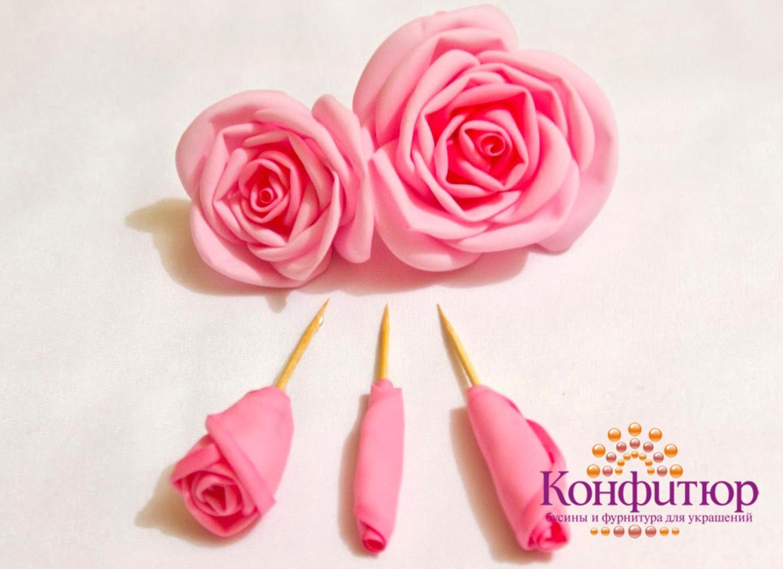 Цветы из фоамирана своими руками: мастер-класс для 26