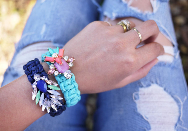 Оригинальные браслеты своими руками фото